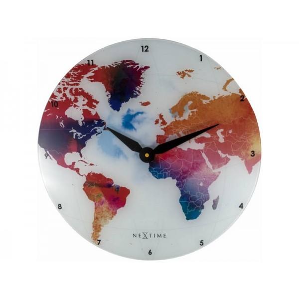 Ρολόι Τοίχου Nextime Colorful World