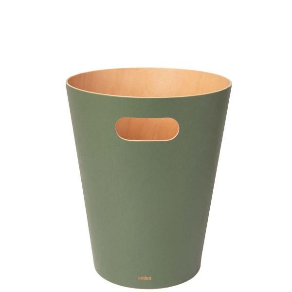 Καλάθι Απορριμάτων Umbra Woodrow Spruce - Πράσινο Γραφείο